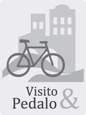 Visito e pedalo in città